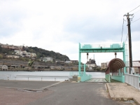 池島港と炭鉱施設