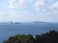 外海の風景(角力灘の島々)