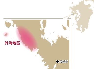 外海地区マップ
