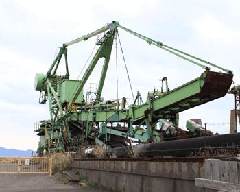 石炭積込み機