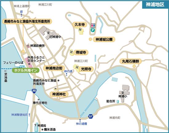 神浦マップ