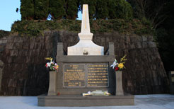 ド・ロ神父の墓